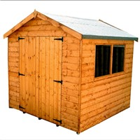 2.1 x 2.1M Surrey Double Door Apex Shed 707