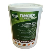 Albany Brown 5ltr Water Based Water Resistant Wood Treatment