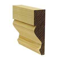 Lawsons 19 x 75mm Ogee Architrave is a stylish architectural moulding ideal for use around door frames to hide the untidy edge where the wall joins the frame. Being of a superior finish and having very few knots means they require very little preparation before painting or staining. They are manufactured from Scandinavian redwood to a high standard to ensure constant sizing and style.
