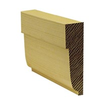 Lawsons 25 x 75mm Ovolo Architrave is a stylish architectural moulding ideal for use around door frames to hide the untidy edge where the wall joins the frame. Being of a superior finish and having very few knots means they require very little preparation before painting or staining. They are manufactured from Scandinavian redwood to a high standard to ensure constant sizing and style.