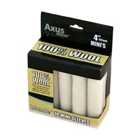 "Axus Blonde 100% Natural Wool Mini Sleeve 4""  Pack of 10"