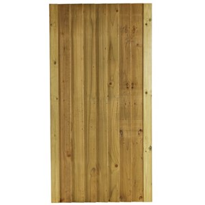 "The Green Babington is a great value framed, ledged and multi braced stop morticed gate. The Babington uses 4""5"" feather edge boarding which offers privacy and security and is supplied in pressure treated softwood for durability. The Babington has a height of 1.76m with width of 0.9m. The universal framing allows the gate to be hung on either side."