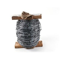 Galv Barbed Wire (HT) 2 Ply 200m Roll  9BARBWLASSO/005