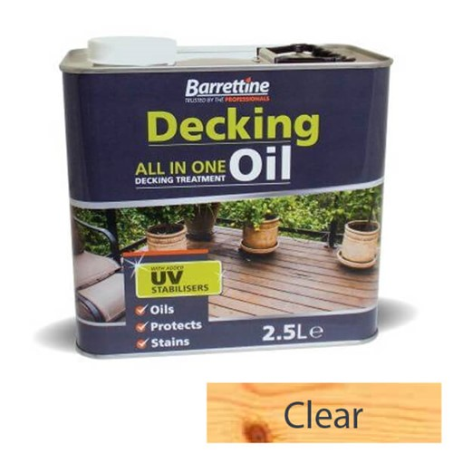 Barrettine 2.5L Clear Decking Treatment