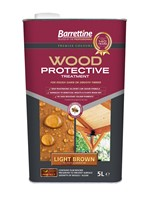 Barrettine 5L Light Brown Wood Protective Treatment