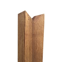 100 x 100 x 900mm Brown Timber Post Birdsmouth
