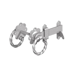 "Birkdale Gatemate Galv 6"" Twisted Ring Gate Latches 5241501"