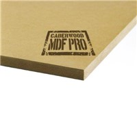 Caberwood Pro 9mm is used extensively throughout the construction and furniture industries, Caberwood MDF Pro is a premium grade MDF with a uniform density across the board. Suitable for straight-forward machine and surface finishing, it gives you the benefits of timber without the natural defects.