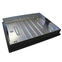 CD 790R/80 MHC&F Galvd 600x450mm 80mm Recessed Block Paving 10T GPW
