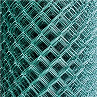 Lawsons 1.8m high x 25m long Chainlink Fencing comes in an easy to roll out pack complete with line wires. The mesh size is standard 50mm with galvanised inner core and green pvc outer coating.
