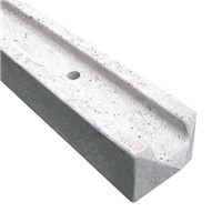 Supreme 2440mm (8ft) Concrete Slotted End Fence Post