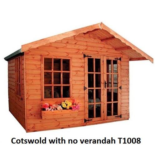 2 4x2 4m Cotswold Summerhouse 808 Lawsons