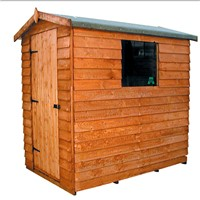 1.8x1.2M Cottage Overlap Shed 604