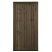 Country Brown FLB Pedestrian Gate