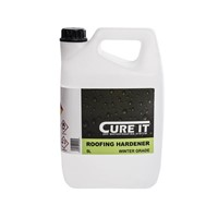 Cure It 5L Catalyst Winter Grade Hardener for Roofing Resin and Roofing Topcoat.