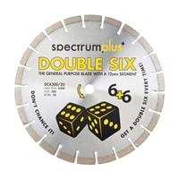 Double Six Diamond Blade