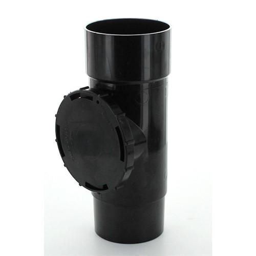 Hunter Br001 Black 68mm Downpipe Access Pipe Lawsons