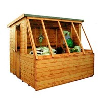 2.4x1.8M Dual Potting Shed 806