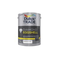 Dulux Trade Brilliant White Diamond Eggshell