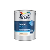 Dulux Trade 2.5L Magnolia Vinyl Matt is a premium quality opacity emulsion which provides superb coverage for everyday living. Dulux has developed an improved in-can consistency which provides a smooth flow for easy application whilst maintaining a high quality finish. Suitable for all ceiling and normal interior wall surfaces.