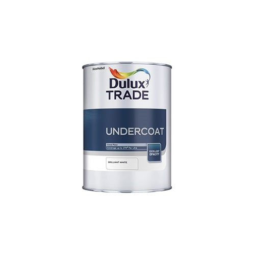 Dulux Trade 1l Pure Brilliant White Undercoat Lawsons