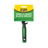Rodo120x30mm Shed & Fence Block Brush