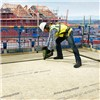 Flat roof application