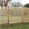 flat top lattice trellis