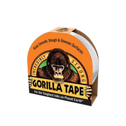 Gorilla Tape White 48mm X 27m Roll Lawsons