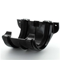 Hunter Plastics Black 112mm Gutter Joint Bracket