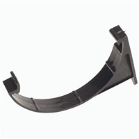 Hunter Plastics Black 112mm Gutter Support Bracket