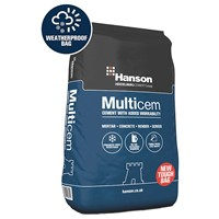 Hanson Multicem Cement In 25kg Tough Bag