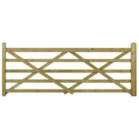 Highgrove (4') 1220mm Wide x 1090mm High Universal 5 Bar Field Gate