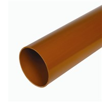 Hunter Plastics DS534 160mm Underground 6m Plain Ended pipe.