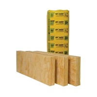 Isover CWS 36 is a medium density glass mineral wool slab supplied in 75mm thickness with a total pack area of 8.74m2. The strong, resilient and flexible batts are 455mm wide to fit between standard wall tie spacing. Isover CWS 36 provides thermal performance in external masonry cavity walls to meet Approved Document L (England and Wales).
