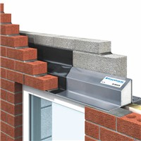 A lintel is a structural horizontal block that spans the space or opening between two vertical supports. It can be a load-bearing building component, and is often found over portals, doors, windows, and fireplaces.