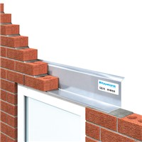 Keystone 900mm SB/K Single Leaf Lintel are for use in cavity walls to support the outer leaf only and also can be used in solid 100mm walls.