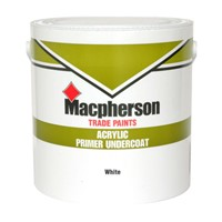 Ideal for interior priming of softwoods, hardwoods, hard-boards, cement, and brickwork. It is also the perfect product as an interior undercoat for gloss finishes.