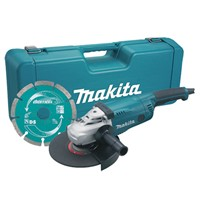 Makita GA9020KD 230mm Angle Grinder 240vc/w Case & Diamond Blade