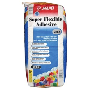 Mapei Super Flexible Adhesive Grey 20kg