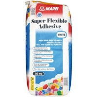 Mapei Super Flexible Adhesive White 20kg