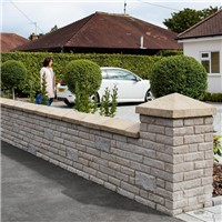 Marshalite Pitch Faced Walling
