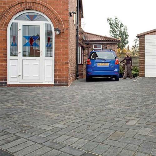 marshalls standard concrete block paving charcoal. Black Bedroom Furniture Sets. Home Design Ideas