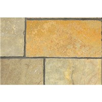 Marshalls Limestone Aluri Riven Rustic Ochre 11.2m2 Mixed Size Pack