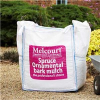 Spruce Ornamental Bark Mulch is a high performance versatile conifer bark mulch suitable for a variety of landscaping applications. Including car parks, business parks, supermarkets, tubs, plants and more!. Each bluk bags contains approximately 0.6m³.