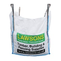 Lawsons' Bulk Bags of MOT Type 1 is a crushed granular aggregate, 40mm to dust, that meets the requirements of the Department of Transport specification for Highway Works clause 803. Sometimes refered to as DOT type 1, it is used for a sub-base for roadways, car parks, footpaths, driveways, hard standings and building bases. Nominal Weight: 875kg.