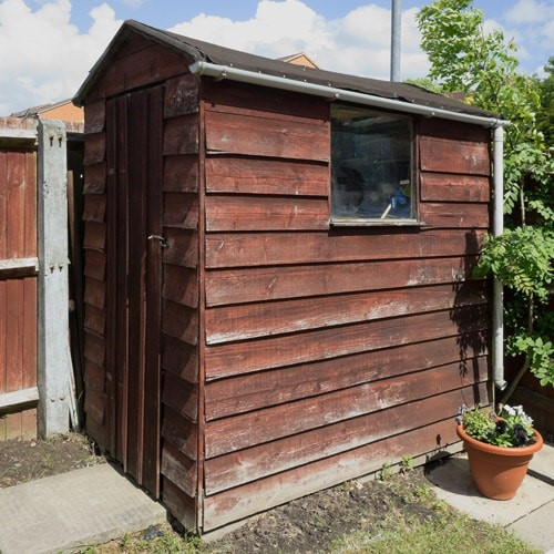 Knock Down Amp Takeaway Old 3 0x2 4m Timber Panel Shed Lawsons