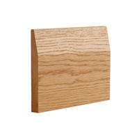 Oak Half Splayed Skirting