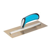 Ox Pro 114mm x 280mm plasterers trowel is manufactured from premium quality tempered stainless steel and features a duragrip handle for optimum performance, perfect balance and ultimate comfort.