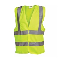 Ox Large Yellow Hi Visibility Vest